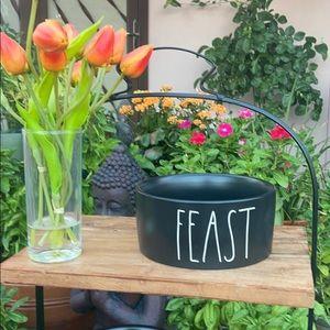 "Rae Dunn ""FEAST"" Dog 🐶 / Cat 🐱 Bowl"